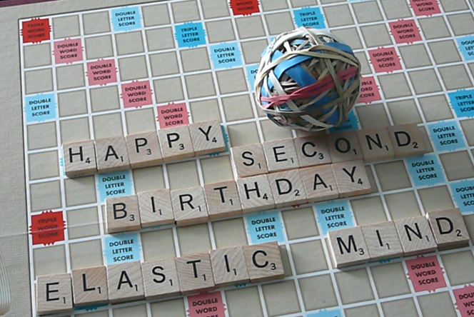 It's Elastic Mind's 2nd birthday!