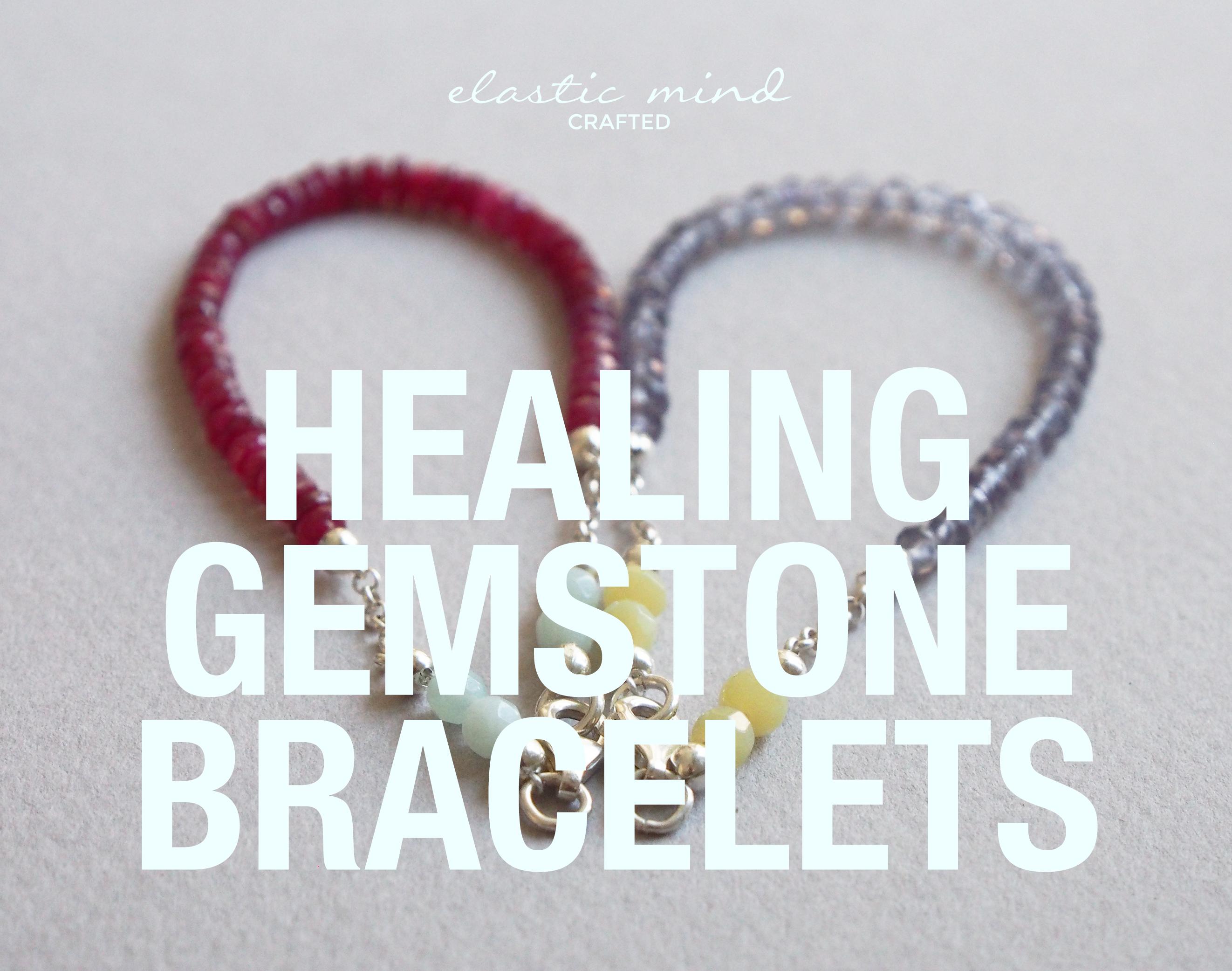 semi-precious stone bracelets