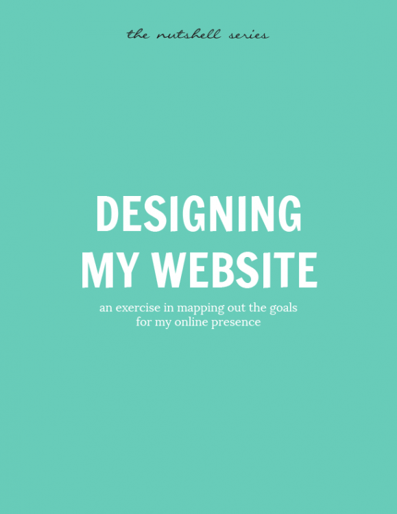 Designing My Website
