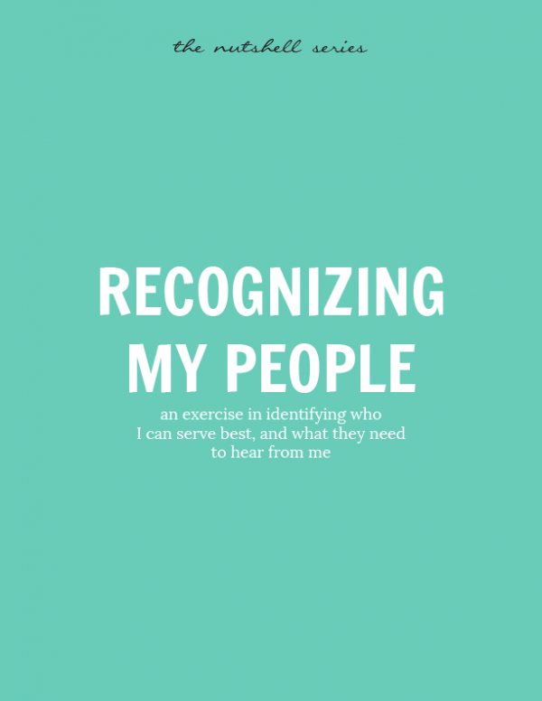 Recognizing my people
