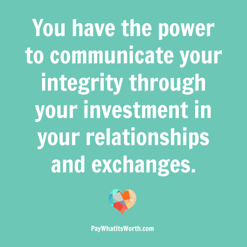 Communicating Investment | Pay What It's Worth