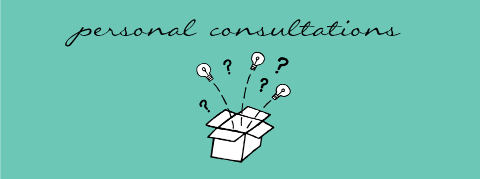 personal consultation in communication design